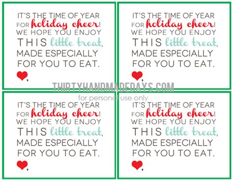 free printable holiday worksheets free christmas cookies christmas treats printable tags bags