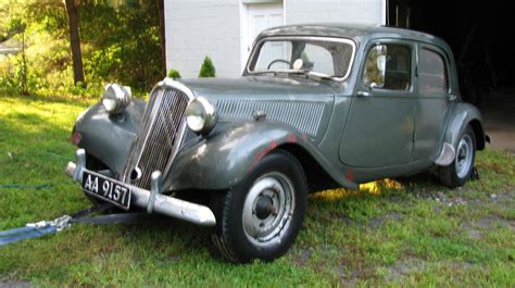 Citroen Traction Avant For Sale by 1952 Citroen Traction Avant For Sale 2103293 Hemmings