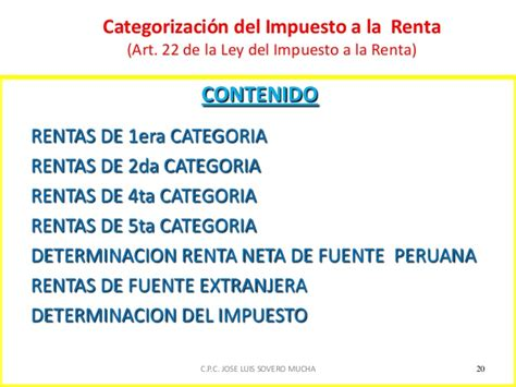 escala de impuesto a la renta 4ta categoria 2016 impuesto ala renta 1ra categoria