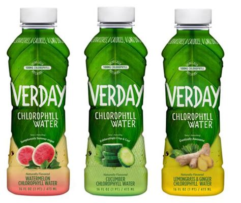 Chlorophyll Detox Drink by Verday Chlorophyll Water Announces Summer Pop Up Events