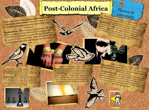 themes of postcolonial literature postcolonial africa