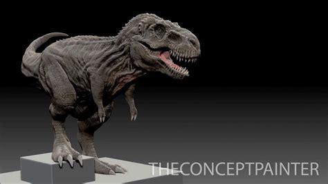 Zbrush Dinosaur Tutorial | battlefield 4 dinosaur mode t rex speed sculpt in
