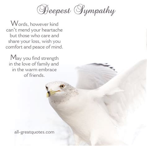 words for comforting a loss of loved one deepest sympathy card words of comfort for grief and loss