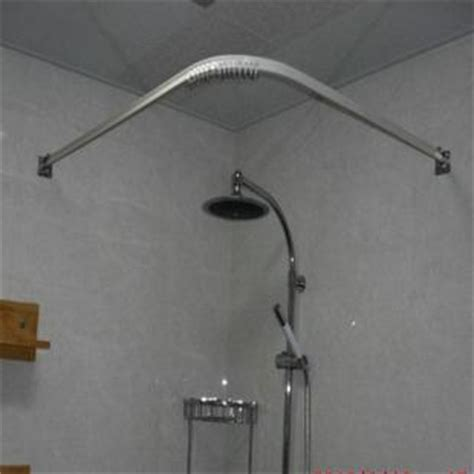 right angle shower curtain rod shower curtains rods l shaped homes decoration tips