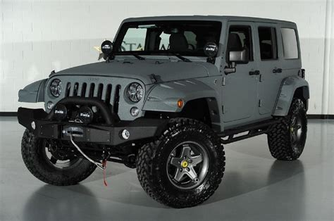 jeep wrangler light grey 2014 jeep wrangler unlimited with kevlar liner finish in