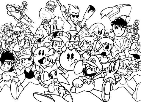 coloring pages video game characters pac man para colorear pintar e imprimir