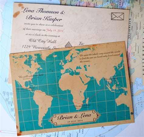 wedding invitations map 11 fearsome map wedding invitations which you searching
