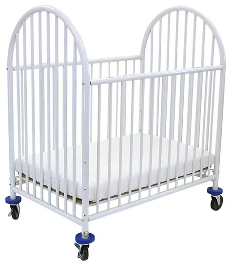 Graco Metal Crib by Arched Metal Compact Crib Cribs By L A Baby