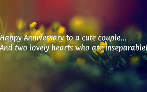 Wedding Anniversary Wishes Quotes For Friends by Happy Anniversary Quotes For Friends Quotesgram