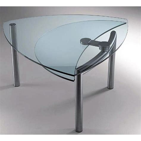 tavoli rotondi in cristallo tavolo cristallo allungabile reflex scontato 50