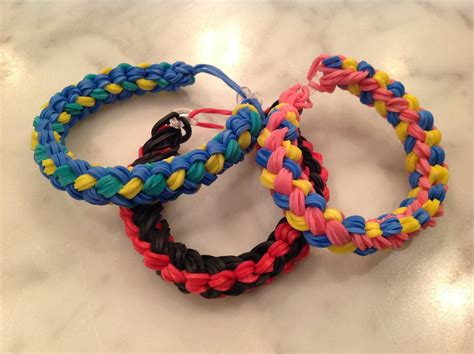 Try These Cool Rainbow Loom Bracelets for Girls Accessories
