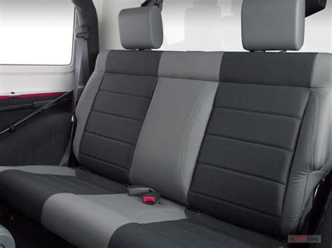 2007 jeep wrangler seats 2007 jeep wrangler interior u s news world report