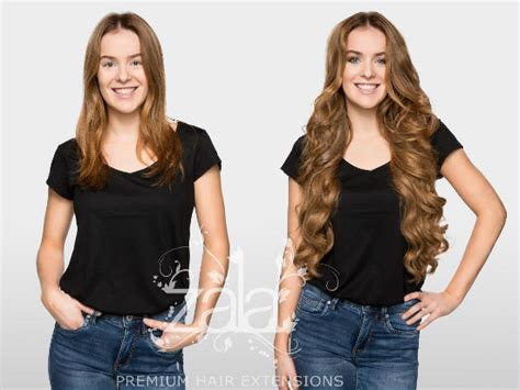 before after zala hair extensions before and after clip in hair extensions gallery short to