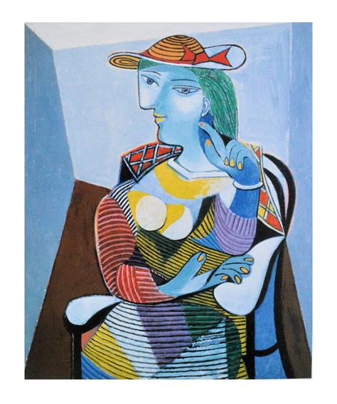 by pablo picasso marie therese walter pablo picasso portrait des marie therese walter poster