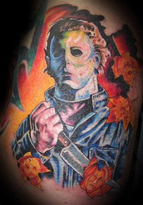 tattoo shops in jackson tn michael myers color portrait by jeff tattoonow