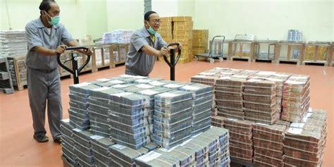 Cetak Uang Indonesia bank indonesia sebut biaya cetak uang rp 2 triliun tiap