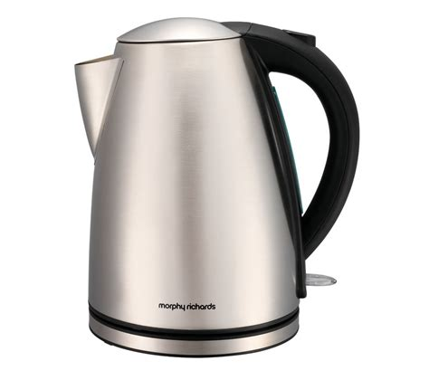 stainless steel kettle buy morphy richards 43615 jug kettle stainless steel free delivery currys