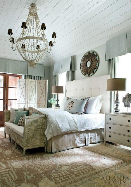 soft traditional master bedroom the tailored pillow blue and cream master bedroom good mix of modern and