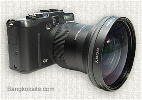Len G9 by Canon Powershot G9 Wide Angle Lens