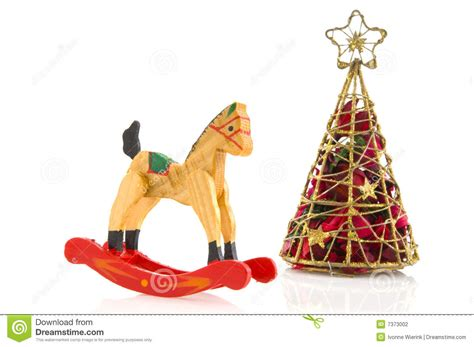 toys with christmas tree stock photography image 7373002