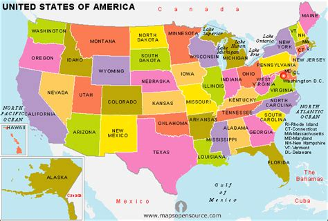 state map of usa united states of america country profile free maps of