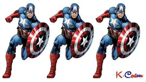 Kostum Kapten Amerika 2 gambar hd captain america vektor terbaru k kartun