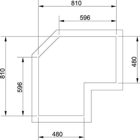 misure piano cottura piani cottura angolari