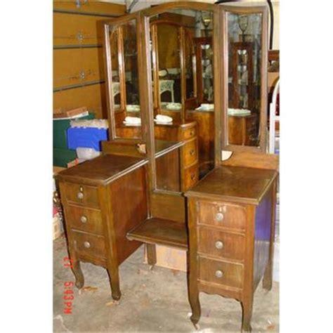 1920 Vanity Dresser by Mirrored Vanity Dressing Table Dresser Ca 1920 2390357