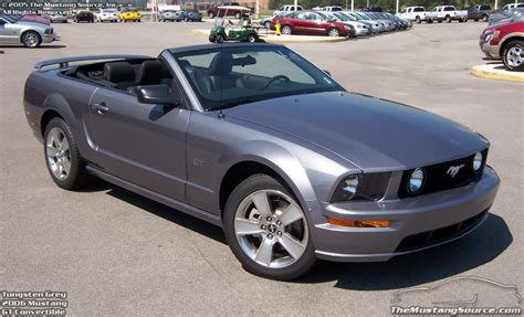 Timeline 2006 Mustang The Mustang Source