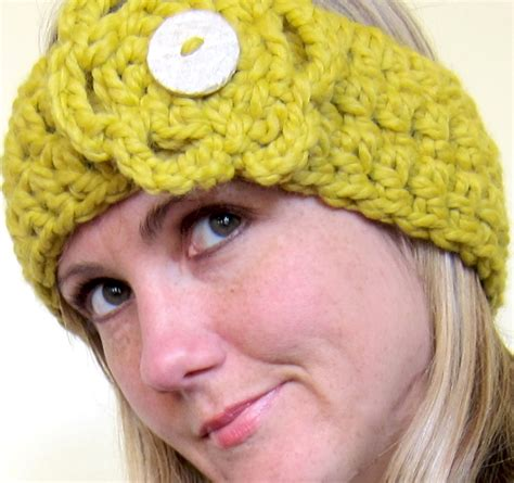 free pattern headband crochet mel p designs free crochet headband earwarmer pattern