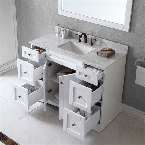 48 single sink vanity with backsplash best 25 single sink vanity ideas on single
