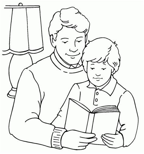 free coloring pages of parents day coloring pages parent