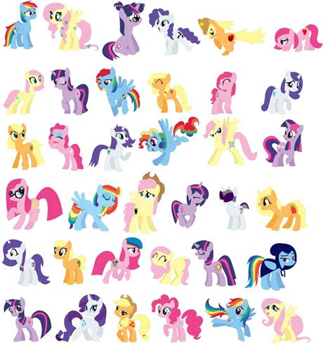 what is my color season au mane six chart by janethepegasus on deviantart