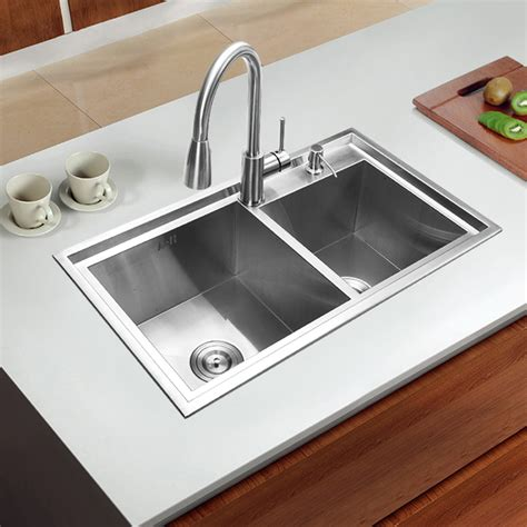 Online Buy Wholesale Stainless Steel Double Sink Kitchen Sinks Wholesale