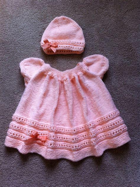 pattern knitting baby dress baby set knitting patterns in the loop knitting