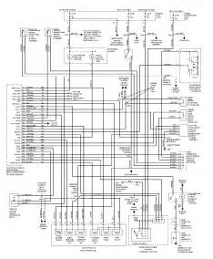 1997 ford probe wiring diagram harness and electric circuit