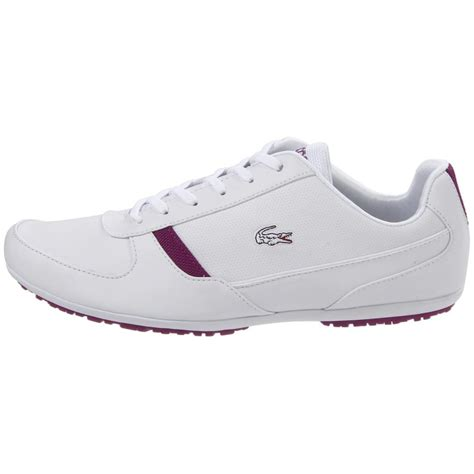 womens white sneaker new lacoste atherton ps womens leather sneakers shoes