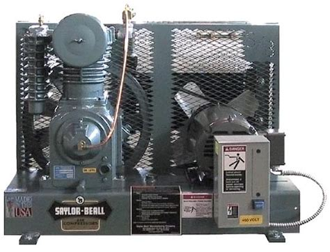 base mounted reciprocating industrial air compressors saylor beall