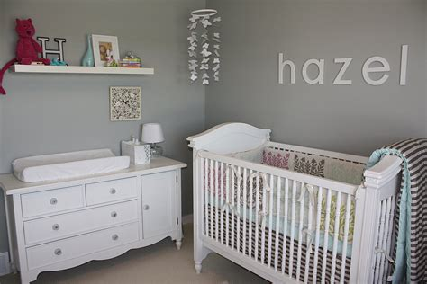 Gray And White Crib Gray And White Chic Nursery Go Gray 5 Gray Nurseries To