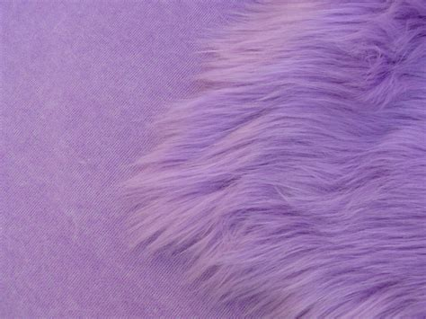 Fimo Classic Lilac mohair supplies limited lilac luxury 60mm shag pile