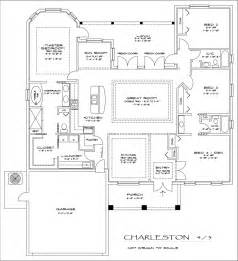 3 4 Bathroom Floor Plans The Charleston 4 Bedroom 3 Bathroom Floorplan Culture