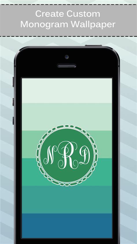 wallpaper maker for iphone online app shopper best of monogram maker wallpaper and