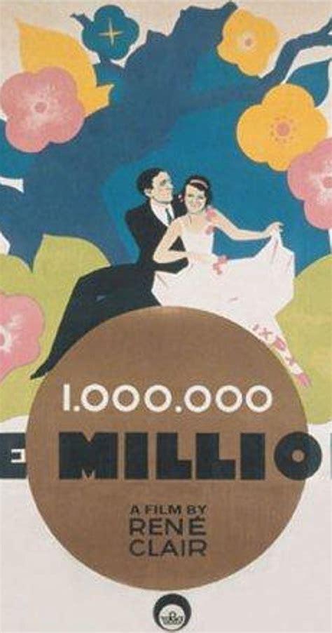 le million rené clair streaming le million 1931 imdb