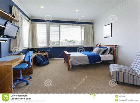 Decorating Ideas For Girls Bedrooms De Slaapkamer Van Moderne Kinderen Stock Foto Afbeelding
