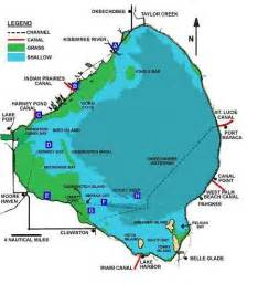 map of lake okeechobee florida everglades bassmasters of south florida fishing club