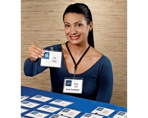 create identification card with avery template 5361 avery 5361 laminated i d cards box of 30