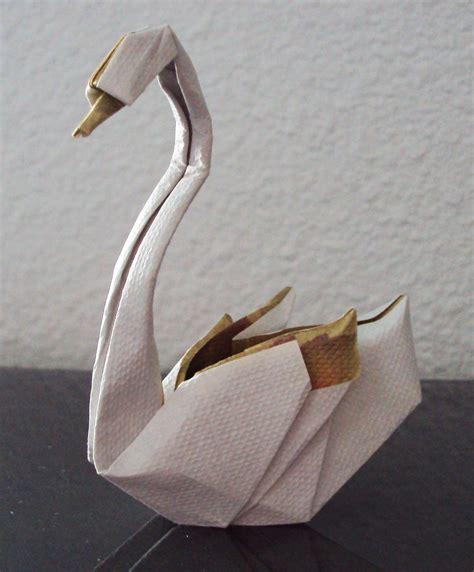 Origami Swan Tutorial - les animaux en origami de matthieu goerger
