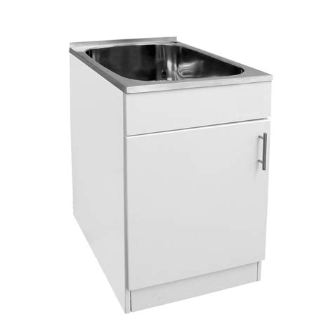 Laundry Sinks With Cabinets by Mini Laundry Trough 45l Cabinet The Sink Warehouse