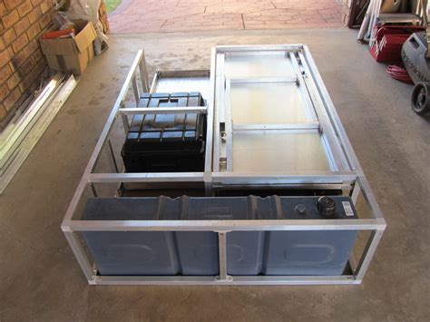 diy hilux d drawer system