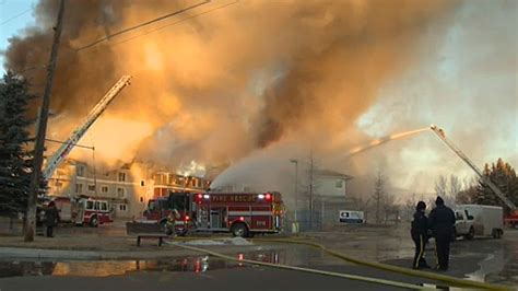 crews  fire  high river seniors residence ctv
